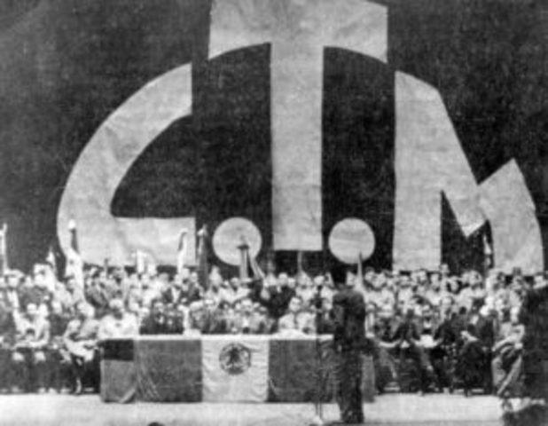 MEXICO. CONFEDERACION DE TRABAJADORES DE MEXICO (CTM). Fotografía recuperada de: http://ctmoficial.org/?page_id=504