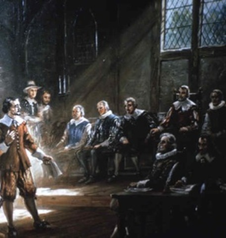 1st meeting in the House of Burgesses