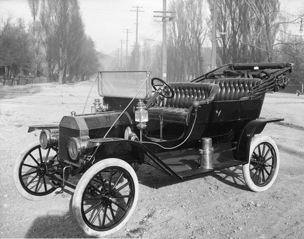 Automobile boom begins