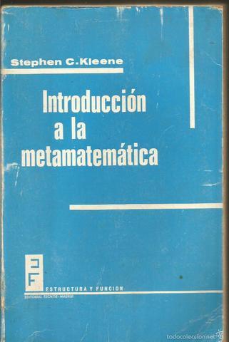 libro Introducción a la Metamatematícas