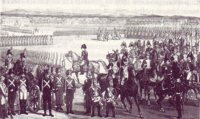 Armate francesi sul Reno e in Belgio