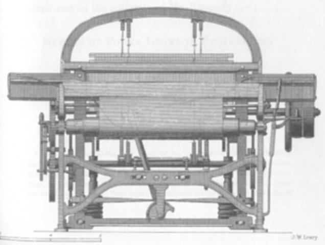 ''Edmund Cartwright'' power loom