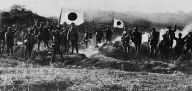 Japó declara la guerra a Alemanya