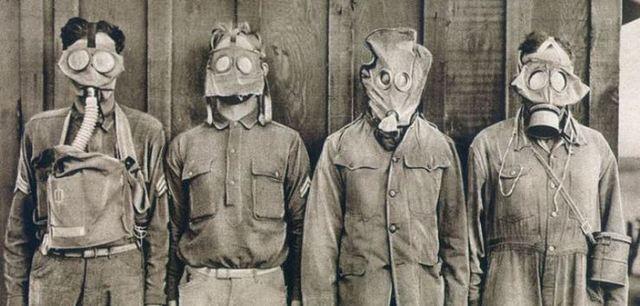 Primer atac amb gasos tòxics