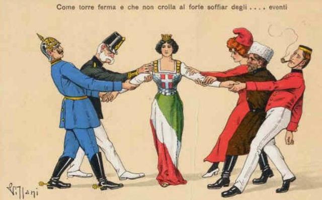 Itàlia entra en guerra al costat de la Triple Entesa.
