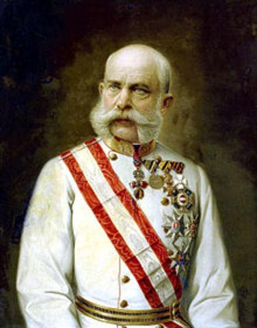 Mort de Francesc Josep I
