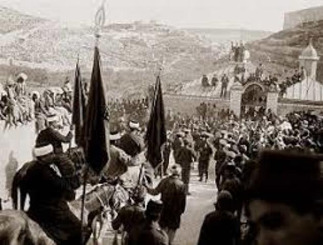 Els britànics entren a Jerusalem