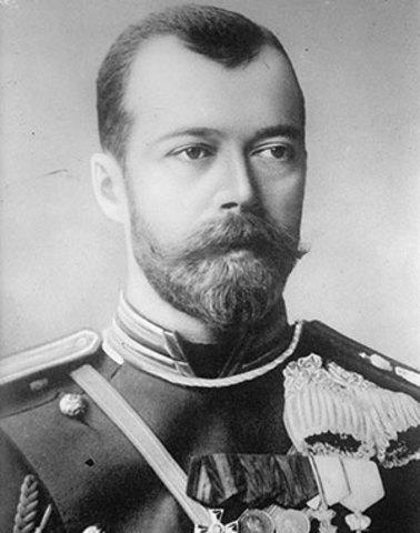 Abdica el tsar Nicolau II de Rússia