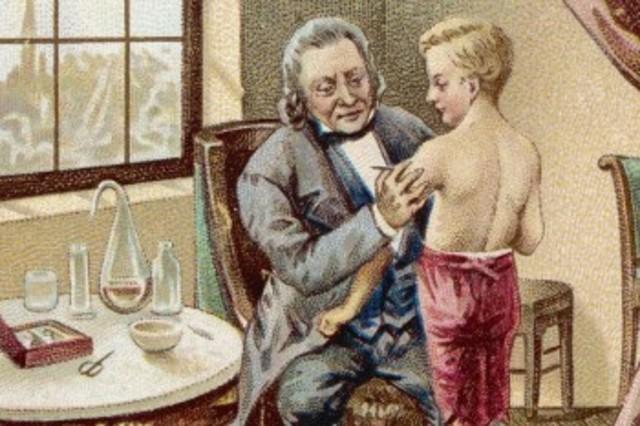 Primera vacuna eficaz contra la viruela.