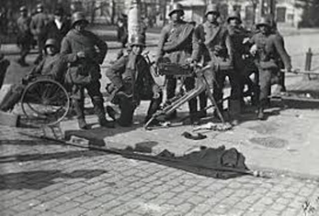 Alemanya llança grans ofensives
