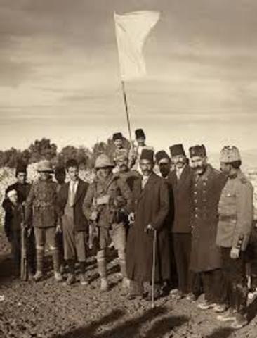 L'Imperi Otomà signa un armistici