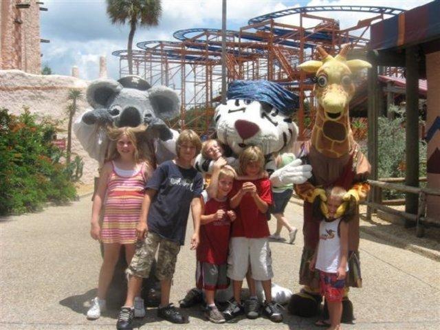 Busch Gardens!