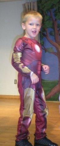 I am Iron Man! Halloween