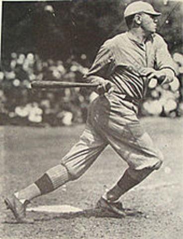 Babe Ruth hit 60 home runs