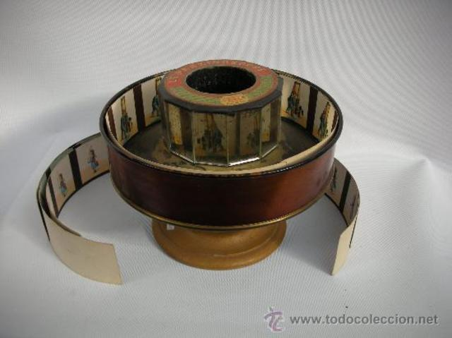 Praxinoscopio de Reynaud