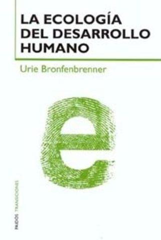 """Su libro más conocido """"La ecología del desarrollo humano"""""""