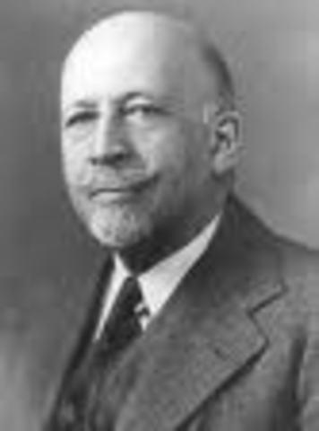 W.E.B Du Bois dies August 27, 1963