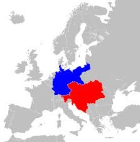 Aliança entre Alemanya i Àustria-Hongria