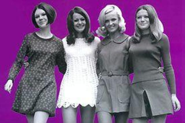 LA MODA NEGLI ANNI '60