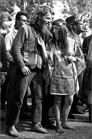 LA MODA HIPPIE DEGLI ANNI '70