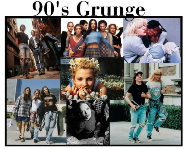 INFLUENZE GRUNGE NEGLI ANNI '90