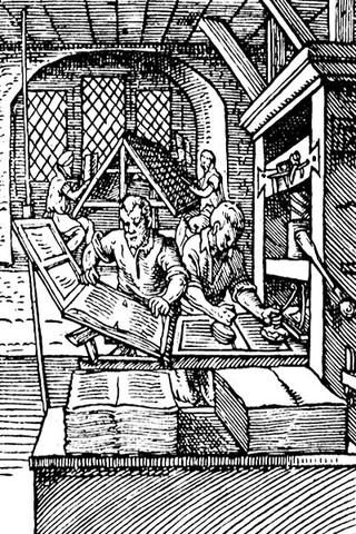 Nasce la stampa a caratteri mobili, grazie al tipografo tedesco Johannes Gutenberg