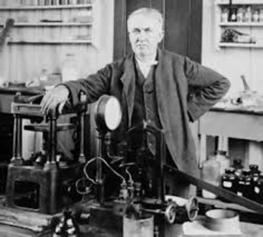 Energía Eléctrica y Thomas Edison