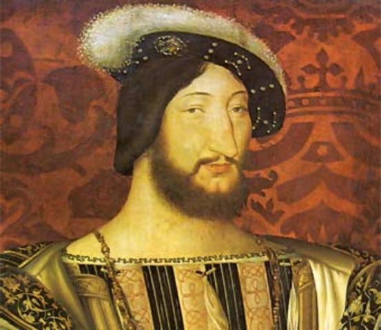 Francisco I de Francia rey de Francia