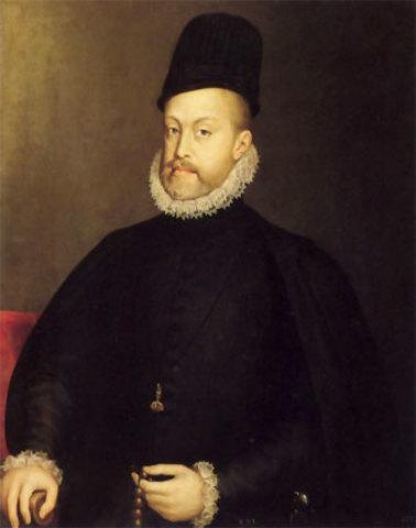 Felipe II de España rey de España
