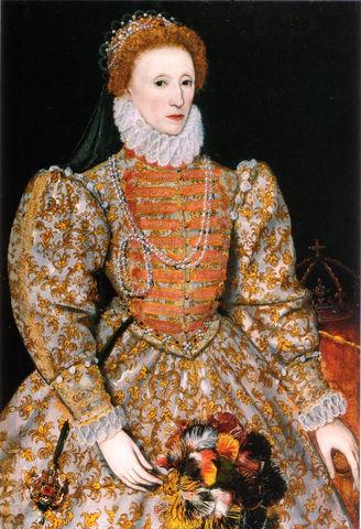 Isabel I de Inglaterra reina de Inglaterra