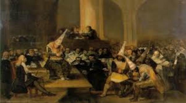 Fundación de la Inquisición española, creada por los reyes católicos
