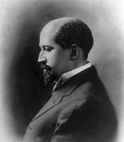 William Edward burghardt  Du Bois was born Feburuary 23, 1868