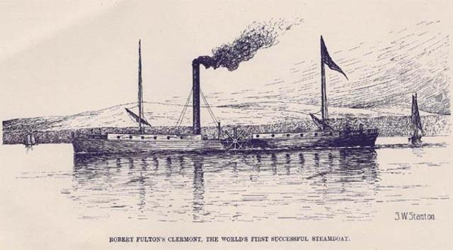 ''robert fulton'' steamboat