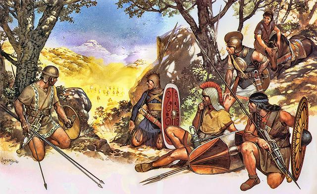Conquest of hispania Ulterior