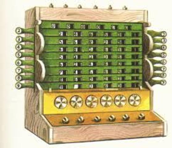 Счетная машина Шиккарда