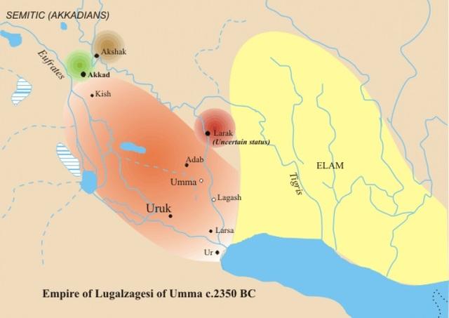 Babylon conqures Uruk and Isin