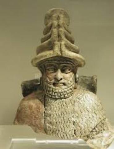 Hammurabi son, Samsu-Iluna take the control of the impire