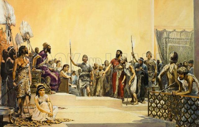 King Hammurabi died