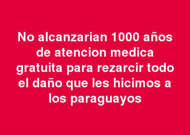 Deabate sobre la asistencia médica a los hermanos paraguayos en Posadas.