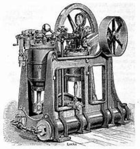 Oil-burning Combustion Engine