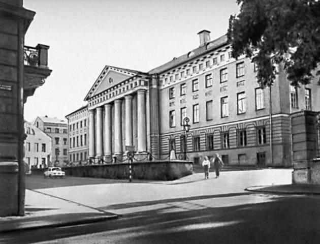 Открытие Тартуского университета