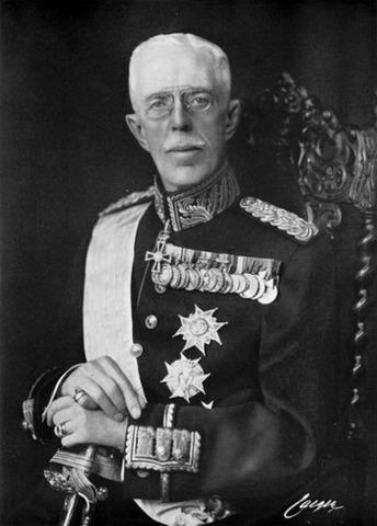 Прибытие короля Швеции Густава V