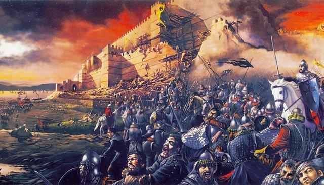 Α' Άλωση της Κωνσταντινούπολης