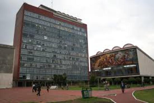 Universidad Nacional de México que pasa a ser Escuela libre de Derecho.