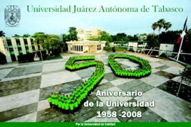 Universidad Autónoma de Tabasco.