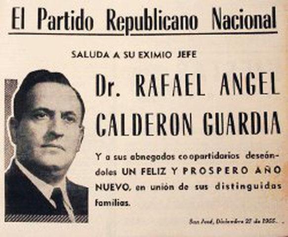 Fundación del Partido Republicano Nacional
