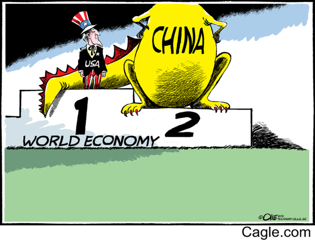 China is the second largest economy