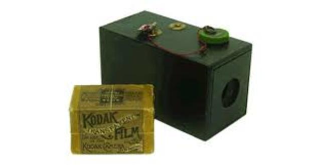 Primera Camara de Kodak