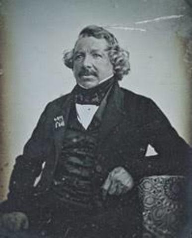 JACQUES LOUIS DAGUERRE (1835)