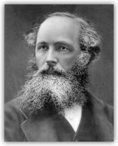 SIR JAMES CLERK MAXWELL .(1861)
